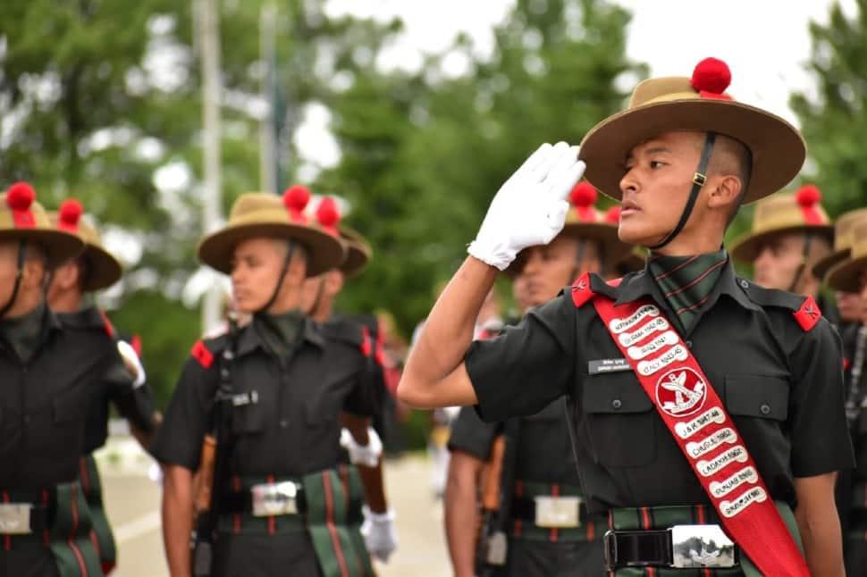 Gorkha soldiers