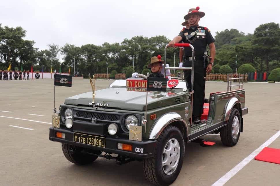 Gorkha soldiers graduation