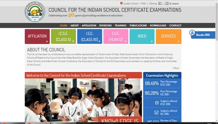 ICSE ISC Results 2016