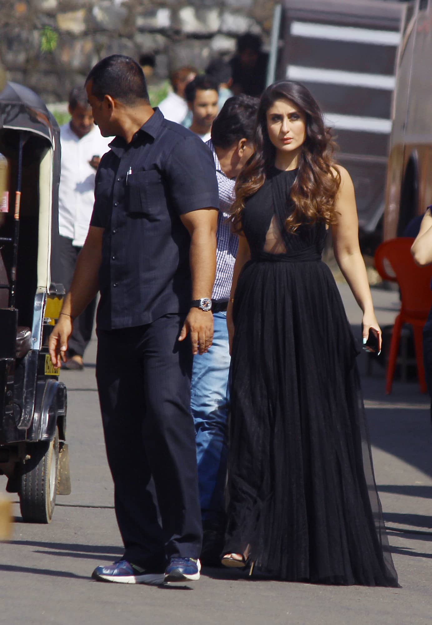0300d06f691 Kareena Kapoor spotted on ad shoot sets