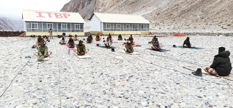 Yoga at 18,000 feet in Ladakh