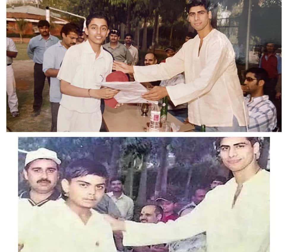 Virat Kohli school team