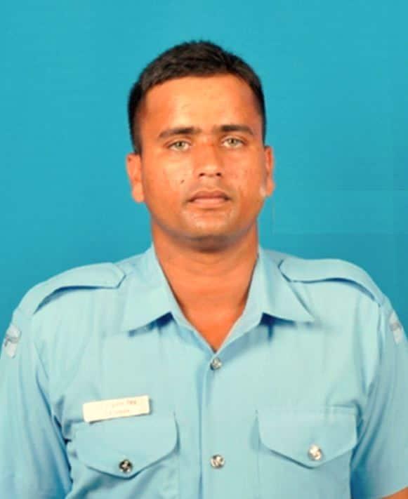 Leading Aircraftman SK Singh