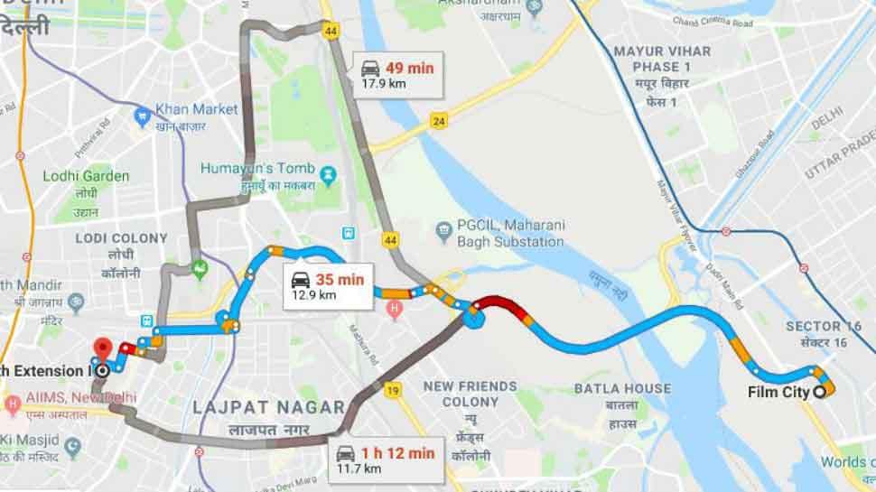 Lajpat Nagar flyover