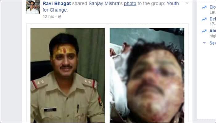 Mathura Violence_SHO Santosh Yadav