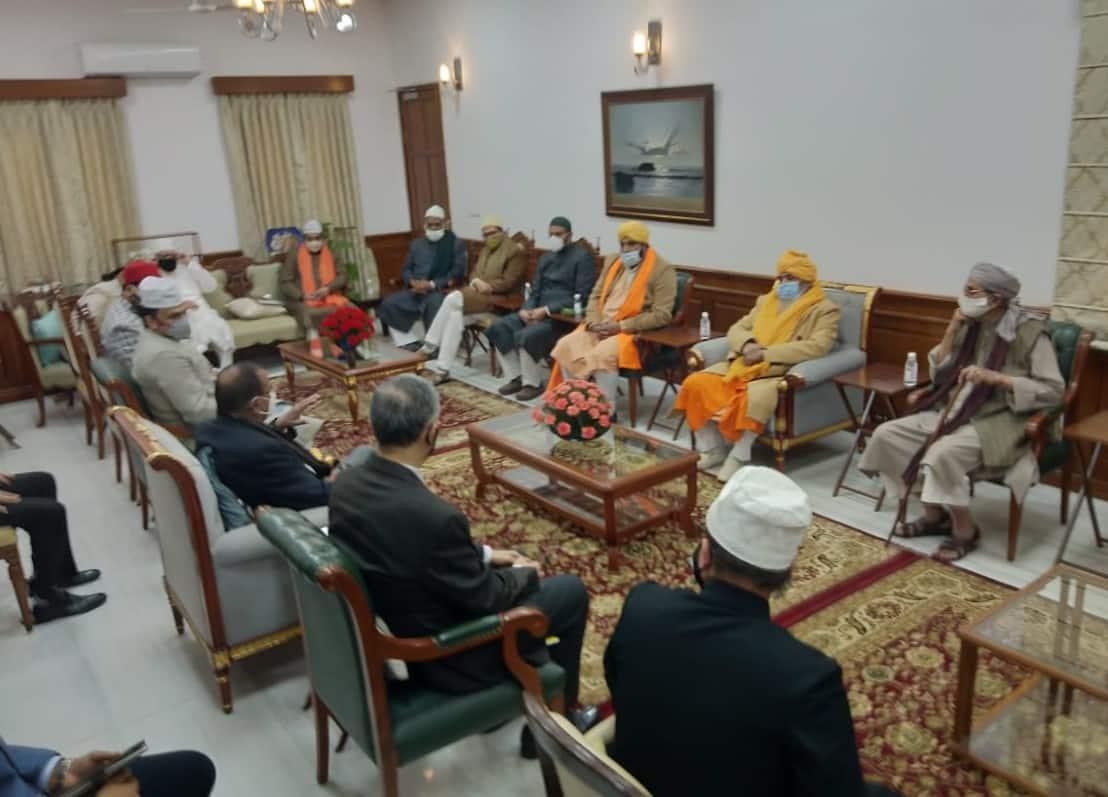 All India Sufi Sajjadashin Council delegation meets NSA Ajit Doval