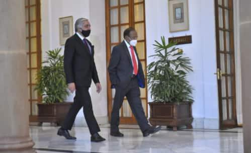 Afghan peace negotiator Abdullah Abdullah meets NSA Doval, discusses Afghan peace process