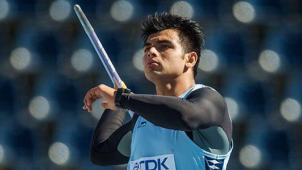 India javelin thrower Neeraj Chopra. (Source: Twitter)