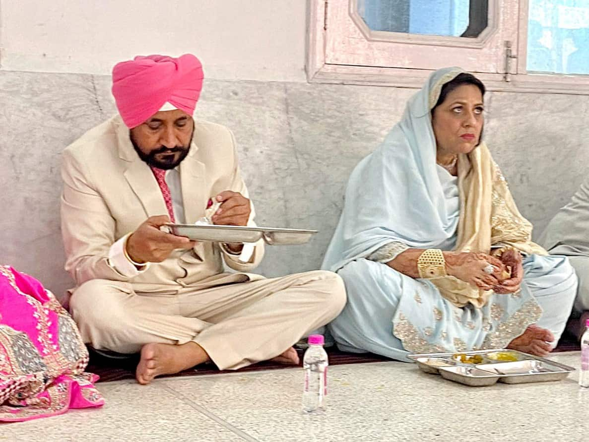 , Punjab CM Charanjit Singh Channi's son ties knot, Navjot Singh Sidhu stays away, The World Live Breaking News Coverage & Updates IN ENGLISH