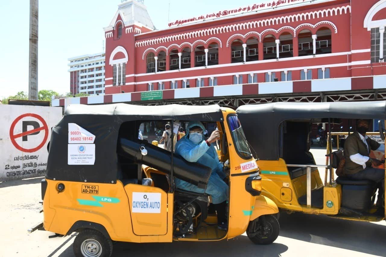Only six rickshaws operational so far
