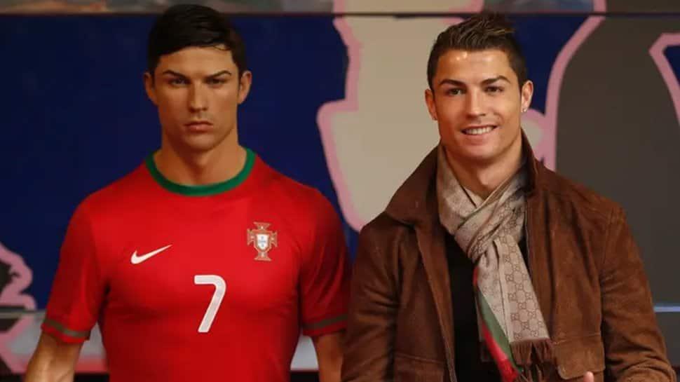 Ronaldo wax statue