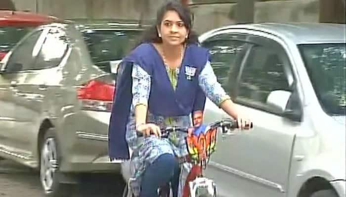 BJP leader Shaina NC