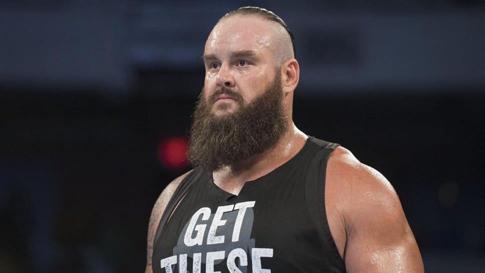 WWE released Braun Strowman