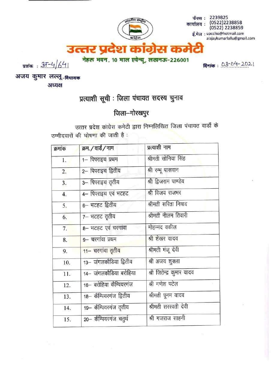 UP Panchayat elections