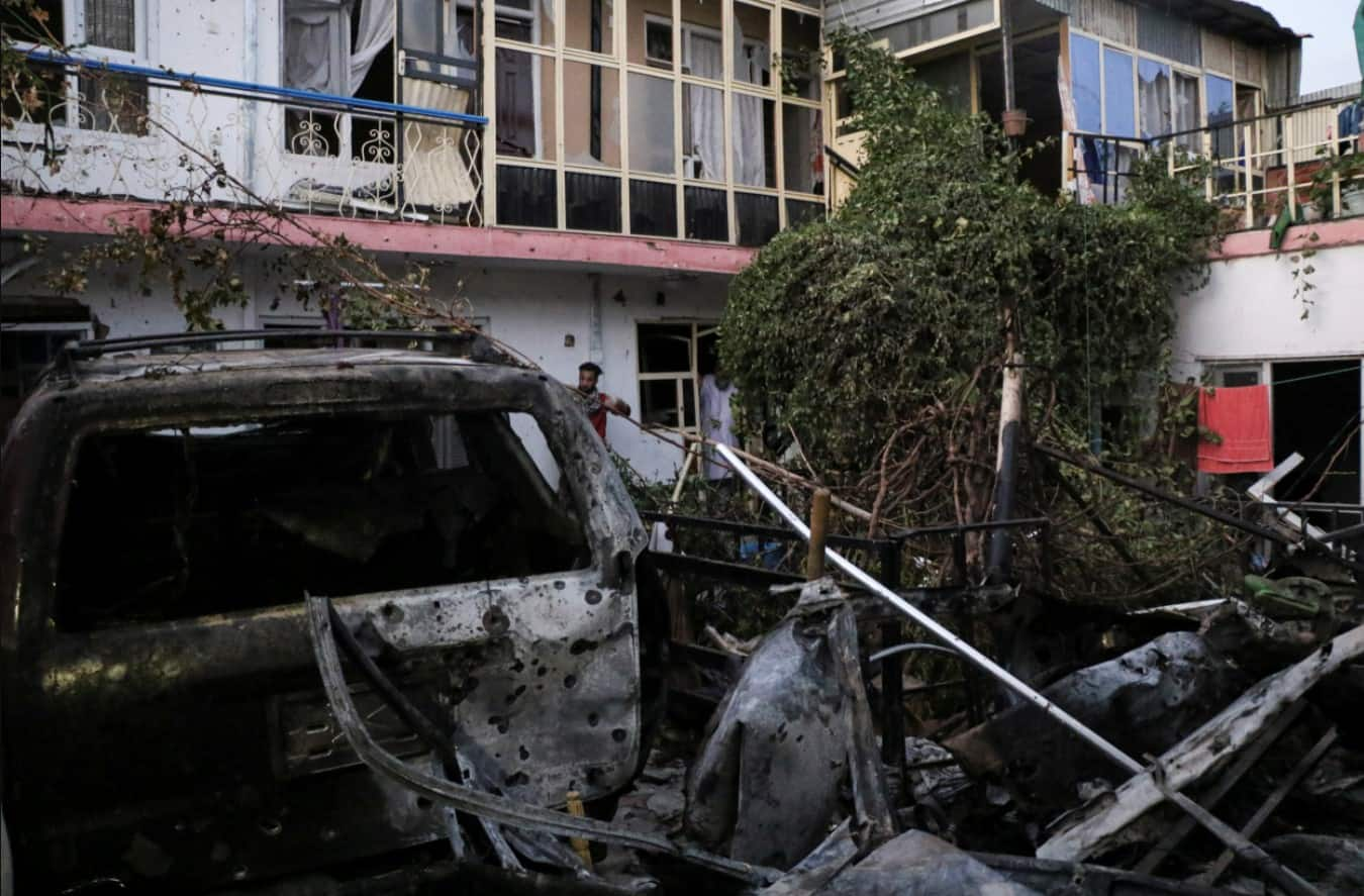 US airstrike in Kabul