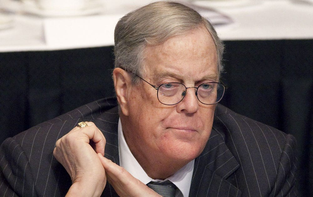 7. David Koch/Net Worth: $42.9 billion/Source of wealth: diversified