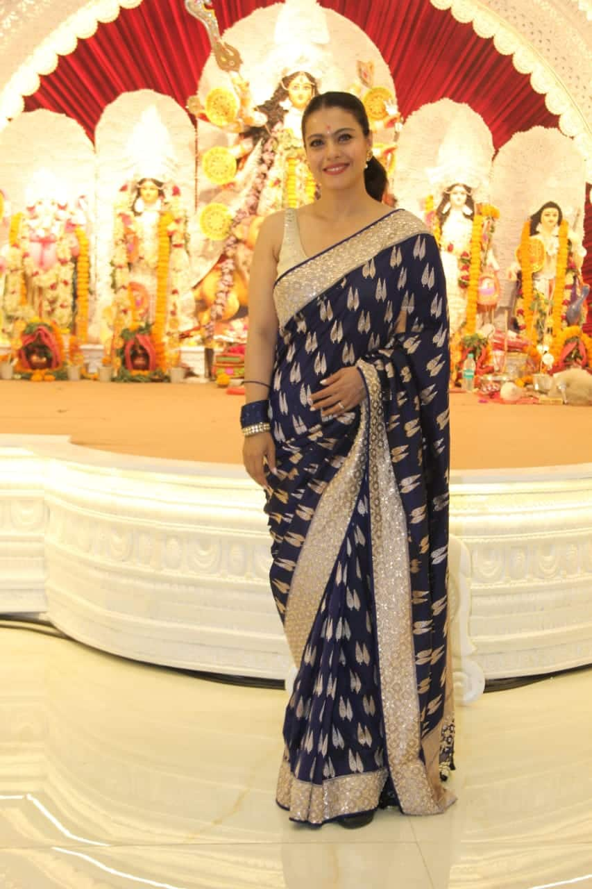 Kajol celebrates Maha Ashtami