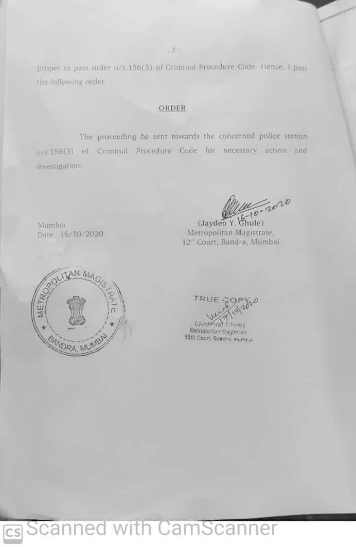 kangana 2 3 Bandra court orders FIR against Kangana Ranaut, sister Rangoli Chandel for allegedly spreading communal hatred