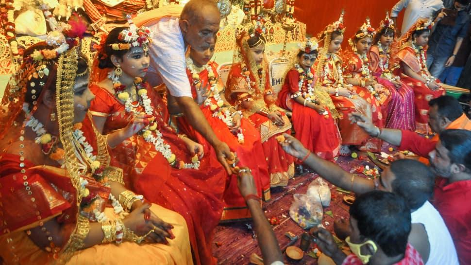 Maha Ashtami 2021 celebrated in Kolkata