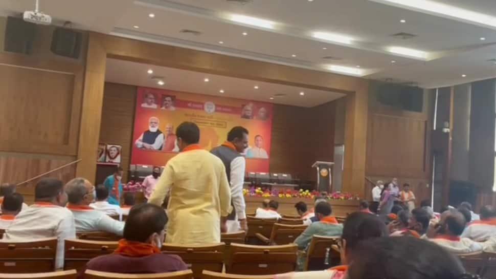 BJP legislative meet underway to pick new Gujarat CM