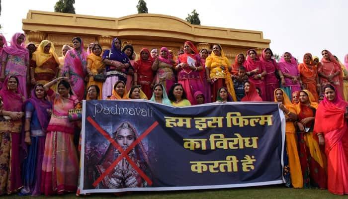 Protests against Padmavati movie.