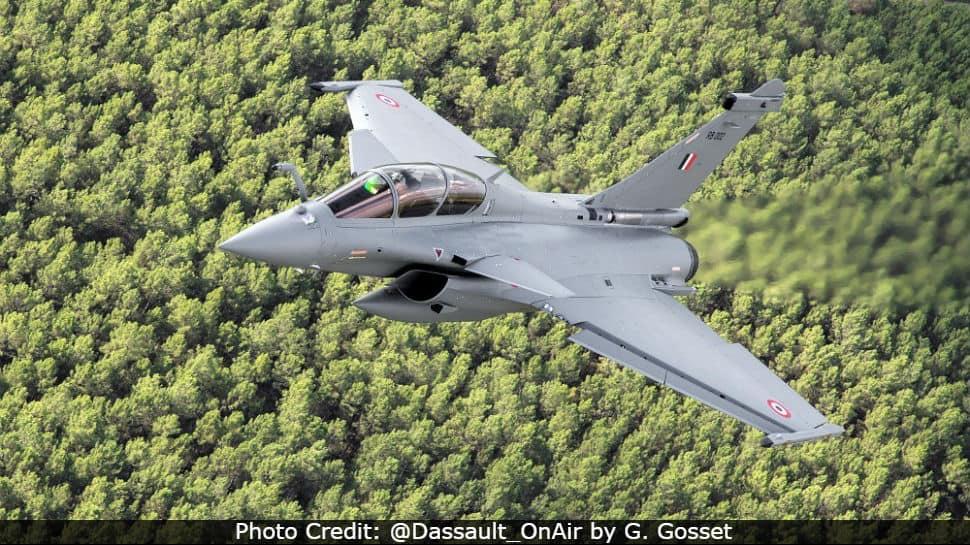 IAF Rafale RB 002 jet