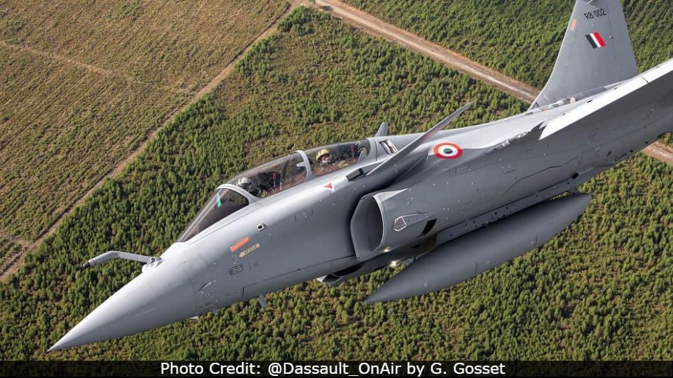 IAF Rafale RB 002 fighter jet