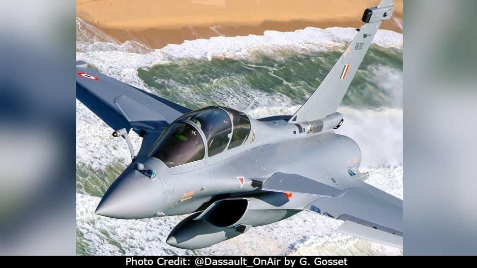 IAF Rafale RB 002 combat aircraft