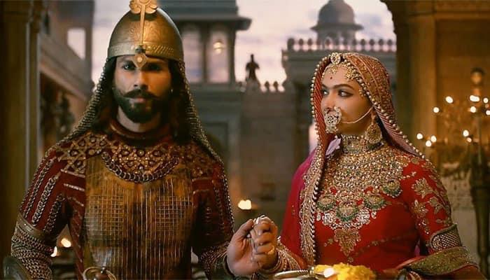 Shahid Kapoor and Deepika Padukone in Padmavati