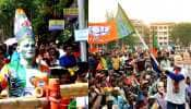 West Bengal Lok Sabha election results 2019: TMC surges ahead in 25 seats, BJP leading on 14