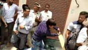 BJP MLA Akash Vijayvargiya caught on cam thrashing Municipal Corporation officer