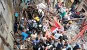 2 dead as four-storey building collapses in Mumbai's Dongri, over 40 feared trapped