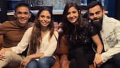 Virat Kohli, Anushka Sharma dine out with Sunil Chhetri and wife after India's win over Australia