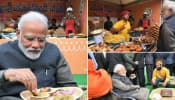 PM Modi relishes 'Litti Chokha', 'kulhad' tea at Delhi's 'Hunar Haat'