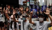Protests in Hong Kong against China`s proposed national security law; over 180 arrested
