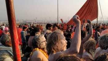 Over 2.25 crore devotees take holy dip as Kumbh Mela opens in Prayagraj