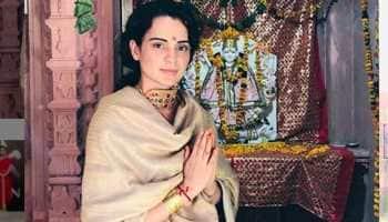 Kangana Ranaut seeks blessings from Kuldevi Maa Mahisasurmardani, visits temple in Himachal—See pic