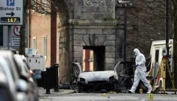 Two arrested over Northern Ireland car bomb attack, New IRA suspected