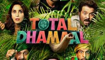 Ajay Devgn, Madhuri Dixit share a quirky poster of Total Dhamaal-See inside