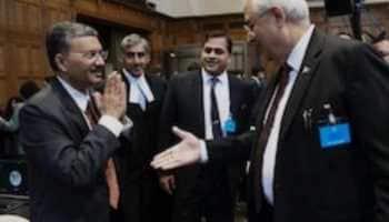India rebuffs Pakistan's handshake offer with a curt Namaste at Kulbhushan Jadhav hearing