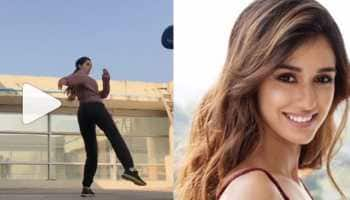 Disha Patani learning 'slap spin tornado' will give major fitness inspiration—Watch