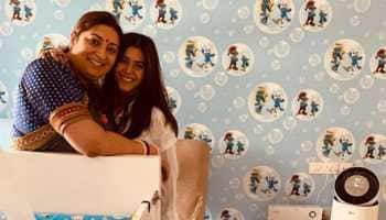 Ekta Kapoor's birthday wish for 'soul sister' Smriti Irani is too cute for words