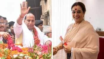 Rajnath Singh vs Poonam Sinha for Lucknow Lok Sabha seat: Shatrughan's wife eyes BJP stronghold