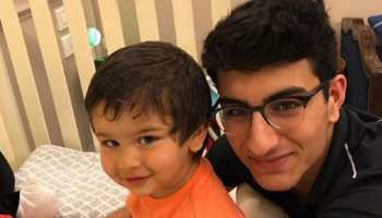 This picture of Taimur Ali Khan and Ibrahim Ali Khan is breaking the internet-See inside