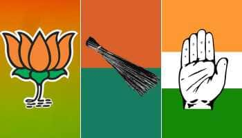 Delhi Lok Sabha seats set for an intense BJP vs AAP vs Congress fight
