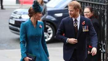 Prince Harry, Kate Middleton make joint appearance, amid reported rift