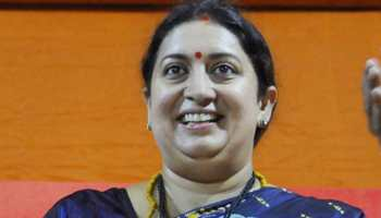It's people vs opposition, tweets Smriti Irani; thanks nation for support