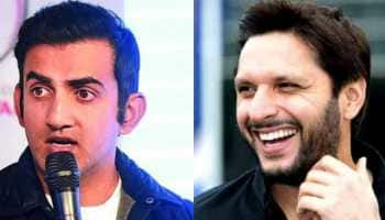 Gautam Gambhir asks India to boycott World Cup tie against Pakistan; Shahid Afridi lashes out
