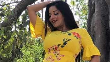 Bhojpuri bombshell Monalisa gives major summer vibes in denim shorts and tee
