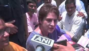Priyanka Gandhi Vadra stopped on way to Sonbhadra, taken to guest house